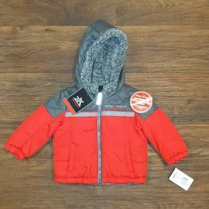 ZeroXposur Lined Red Winter Jacket sz 12m